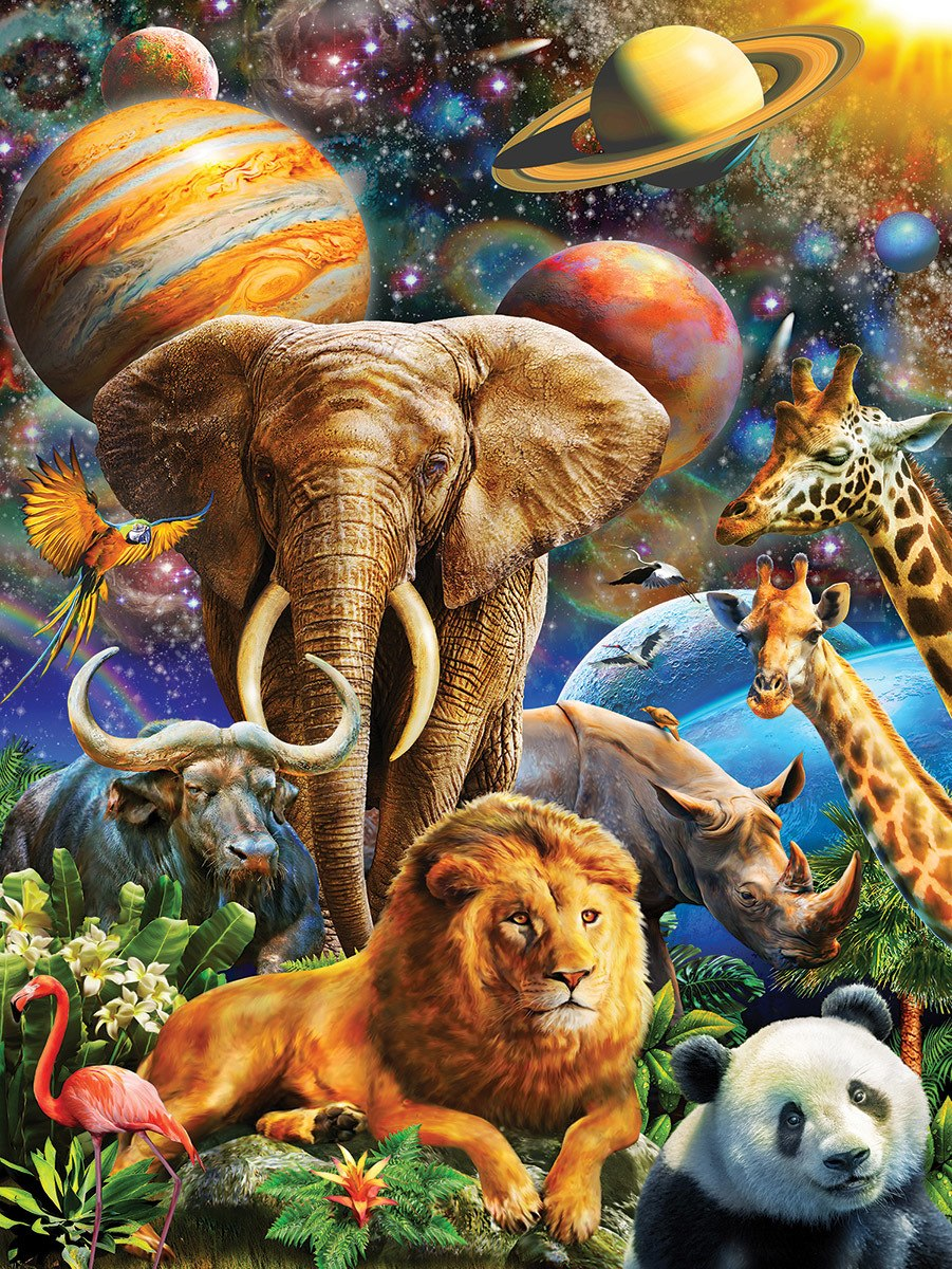 звери планеты картинки