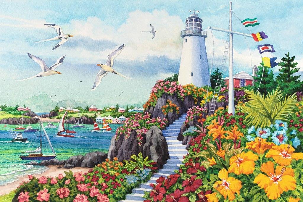 Coastal Paradise - 3000pc Jigsaw Puzzle By Ravensburger